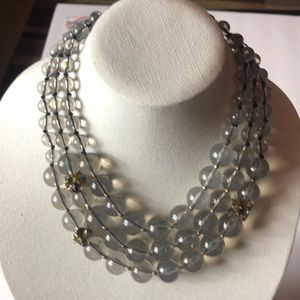 Kate spade  triple strand statement necklace